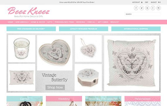 Beez Kneez - Beautiful Home Decor & Gifts