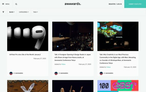 Awwwards Blog