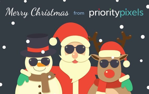 Merry Christmas from Priority Pixels