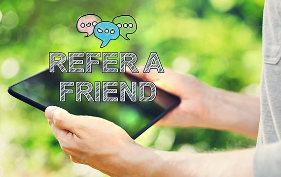 New Business Referral Scheme