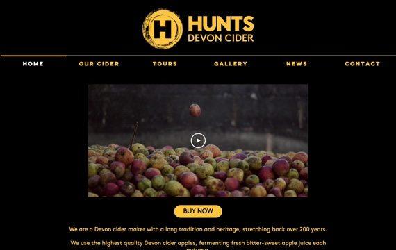 Hunts Cider