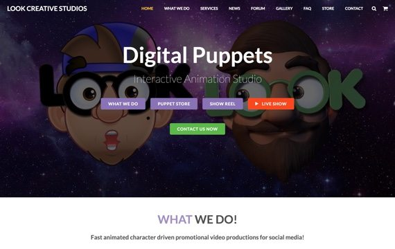LOOK Digital Puppets