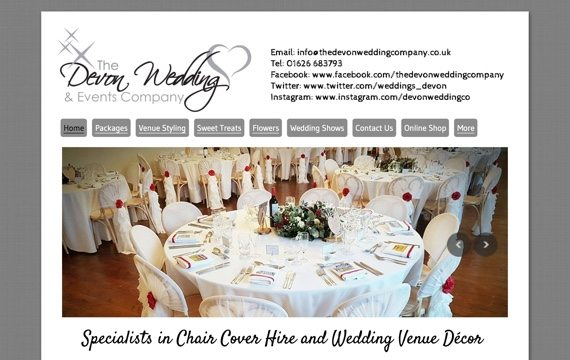 Catherine Chadwick - Devon Wedding Company