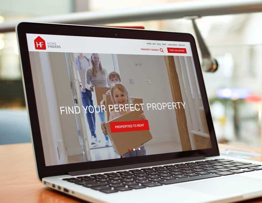 Robust website redesign for a small Devon based estate agency