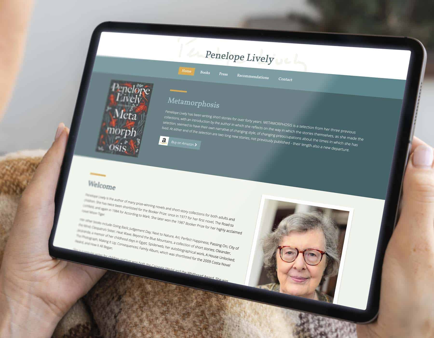 Website redesign for