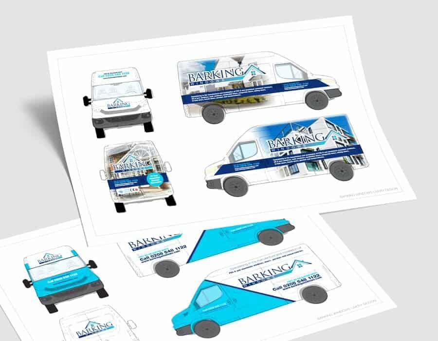 Print rebrand forLondon based window company