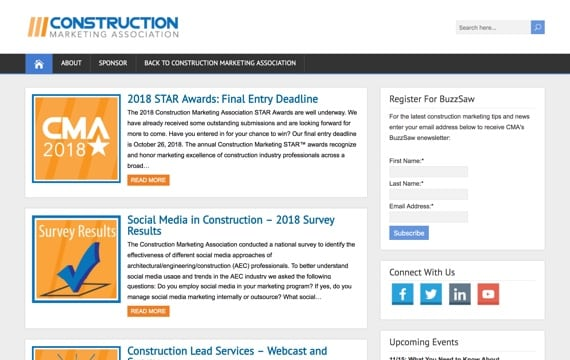 Construction Marketing Association