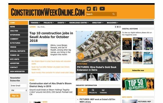 Construction Week Online