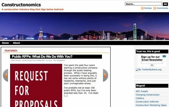 Constructonomics