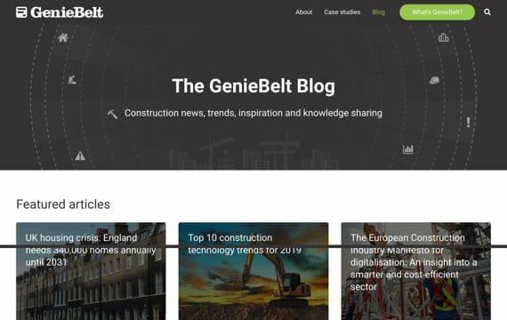 GenieBelt Blog