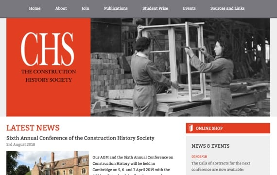 The Construction History Society