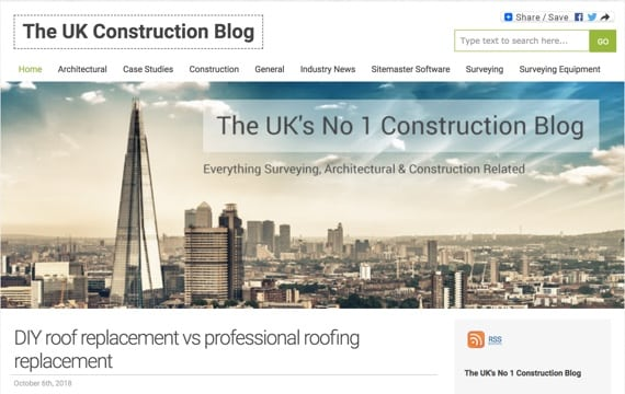 The UK Construction Blog