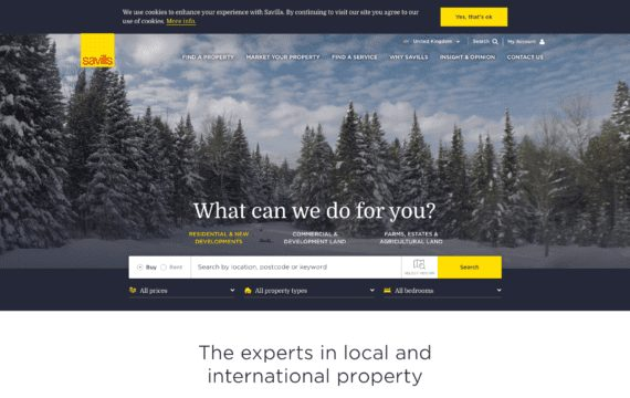34 of the Best Estate Agency Websites 2019