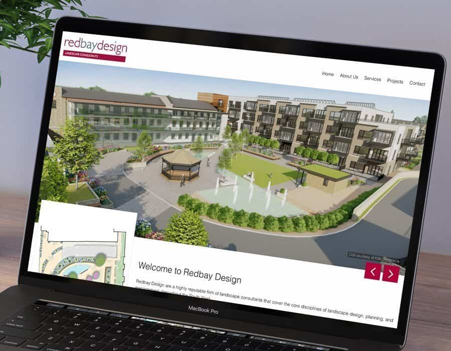 Responsive website redesign for Torquay-based landscape architects