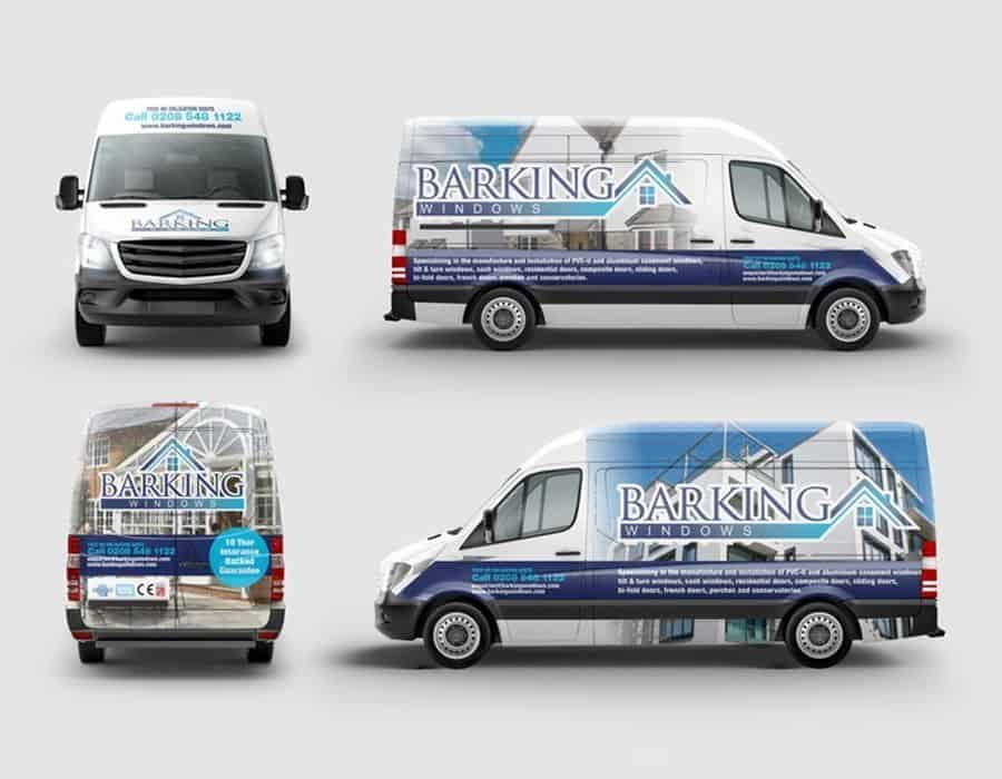 Full digital and print rebrand for London based window company