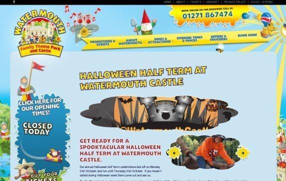 Watermouth Halloween