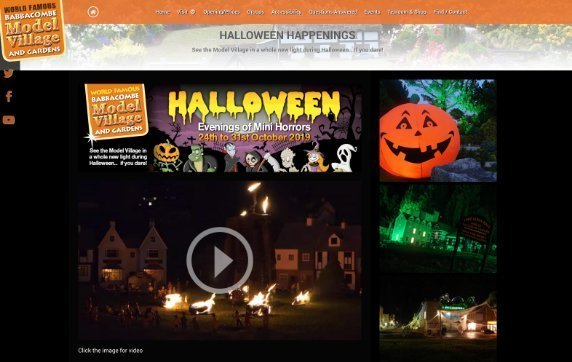 model village halloween