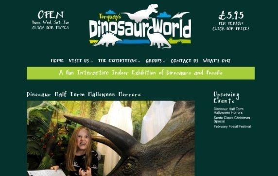 Dinosaur World halloween