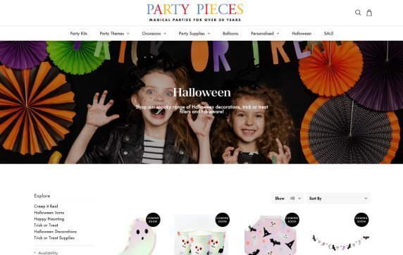 party pieces halloween