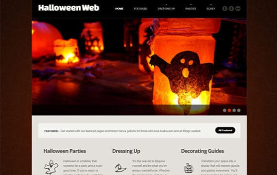 Halloween Website