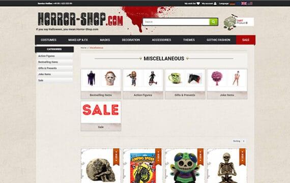 Horror Shop