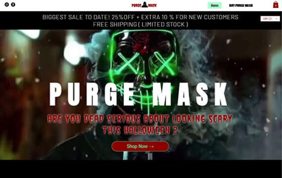 Purge Mask Store