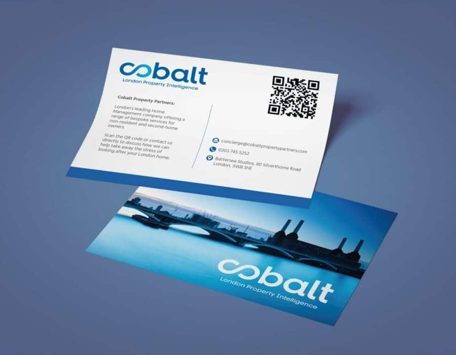 Graphic Design - Cobalt Flyer