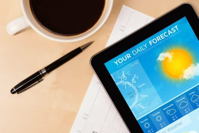 How can a business benefit from weather marketing?