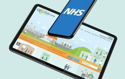 Website revamp for NHS Health Connections directory website