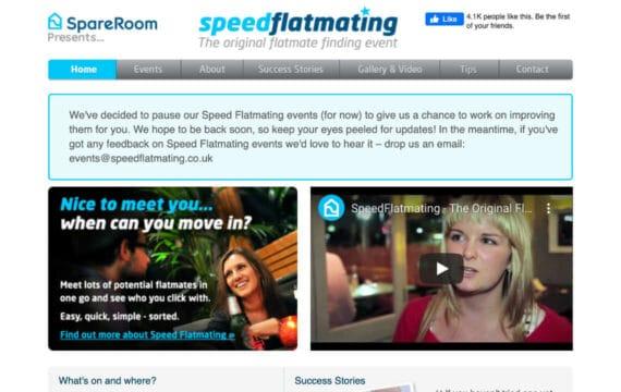 Speed Flatmating