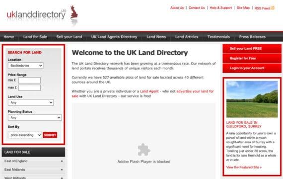 UK Land Directory