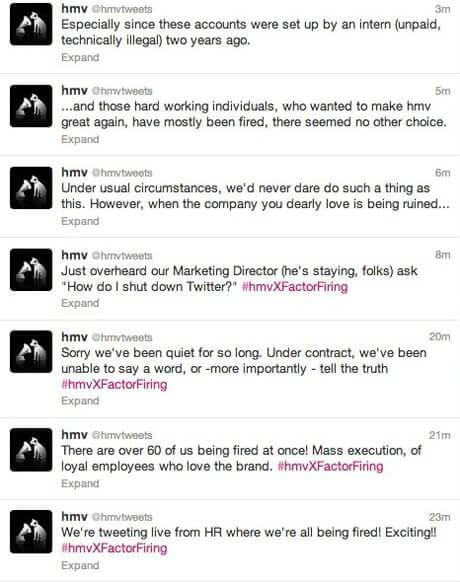 HMV twitter thread
