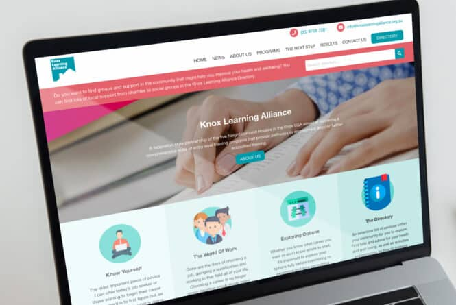 New Website For Australia Based Knox Learning Alliance