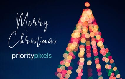 Merry Christmas from the team at Priority Pixels!