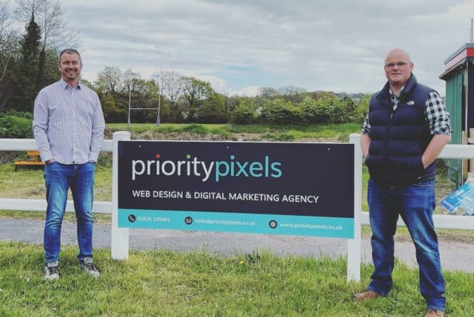 Tackles and Tries Abound: Priority Pixels are now proud sponsors of Newton Abbot Rugby Club!