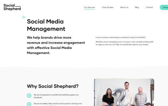 The Social Shepherd