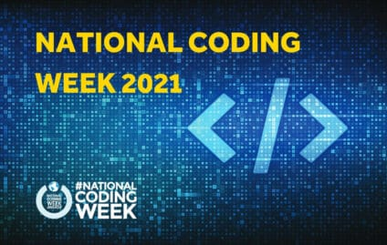 National Coding Week 2021 with Priority Pixels